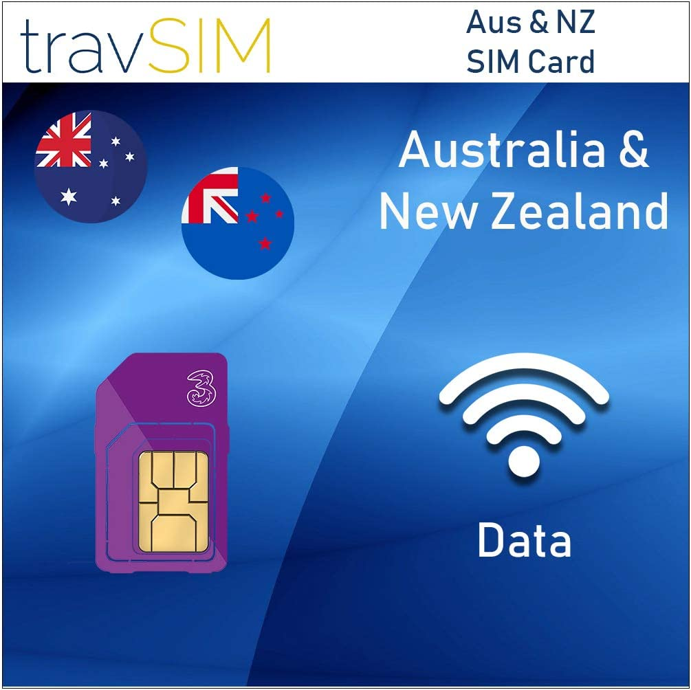 Amazon Com Travsim Three Uk Prepaid Australia New Zealand Sim Card 5gb Data Valid For 30 Days Free Roaming In 71 Destination Countries Including Europe