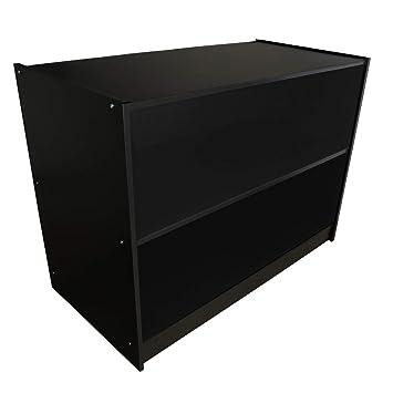 439f36655d5ee4 MonsterShop Laden-Theke Verkaufstheke Verkaufstisch Theke Tresen Empfang  Rezeption Büronöbel Ladenmöbel 120cm B x 60cm