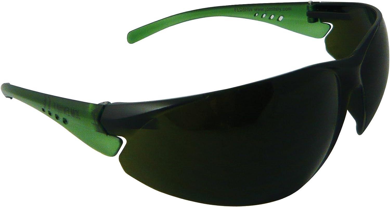 Eagle FLD5HW Gafa de protección laboral con lentes de Policarbonato para trabajos de soldadura de gas