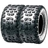 Set Pair of 2 SunF Sport ATV Knobby Rear Tires 22x10-10 22x10x10 4PR A008