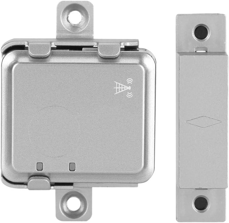 Mini-Echtzeit-GSM-Funk-Smart-T/üralarm Magnetischer LBS-Locator Haussicherungssystem GSM LBS-Funk-T/üralarm Mit LBS-Tracker Pomya GSM-Funk-T/üralarm