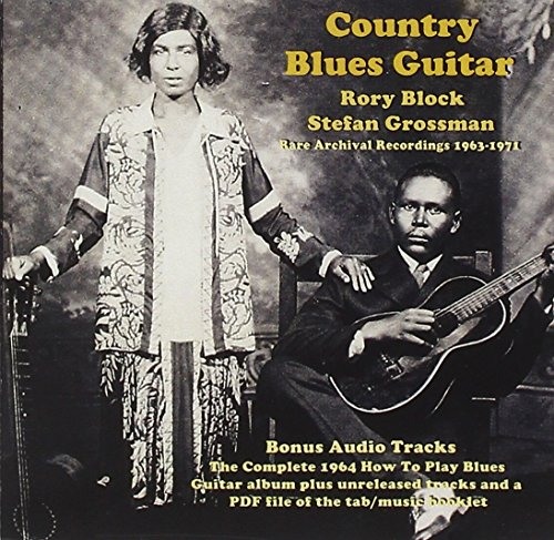 Country Blues Guitar: Rare Archival Recordings (Acoustic Blues Blocks)