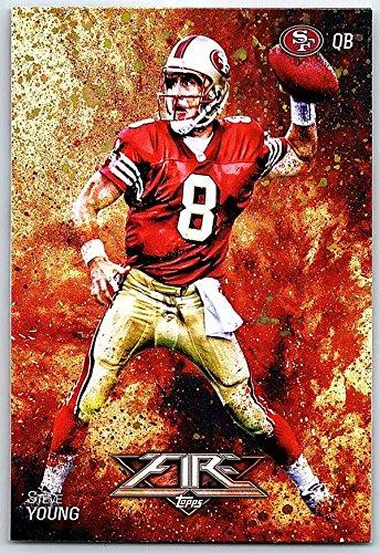 Fire Football - Football NFL 2014 Topps Fire #36 Steve Young NM-MT+ 49ers