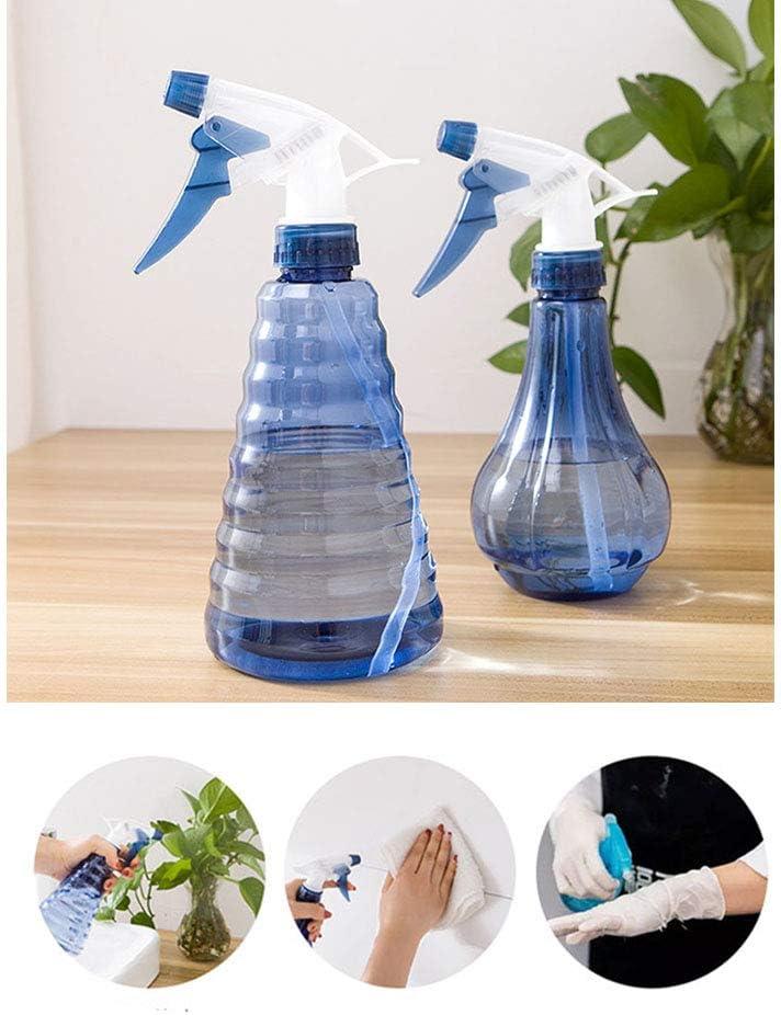 IETONE 2 Piezas Botella de Spray Regadera Maceta de Riego de Flores Jardín Mister Sprayer Peluquería Regadera Botellas de Plástico con Rociador de Cabeza Ajustable Herramienta Práctica de Jardín: Amazon.es: Jardín