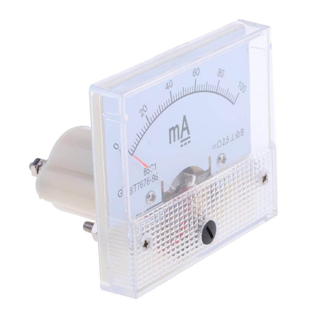 0-100ma petsola 16 Types DC Amp/èrem/ètre Analogique AMP Amp/èrem/ètre DC Amp/èrem/ètre