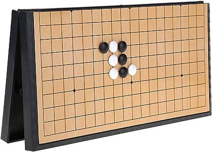 Alomejor Conjunto de Juego de Mesa de ajedrez con Piedras ...