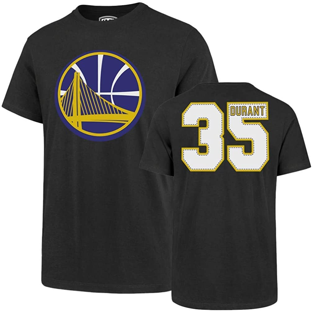 OTS mens Player Rival Tee NBA Large Kevin Durant Charcoal Golden State Warriors