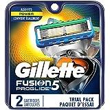 Gillette Fusion5 ProGlide Men's Razor Blades, 2 Blade Refills
