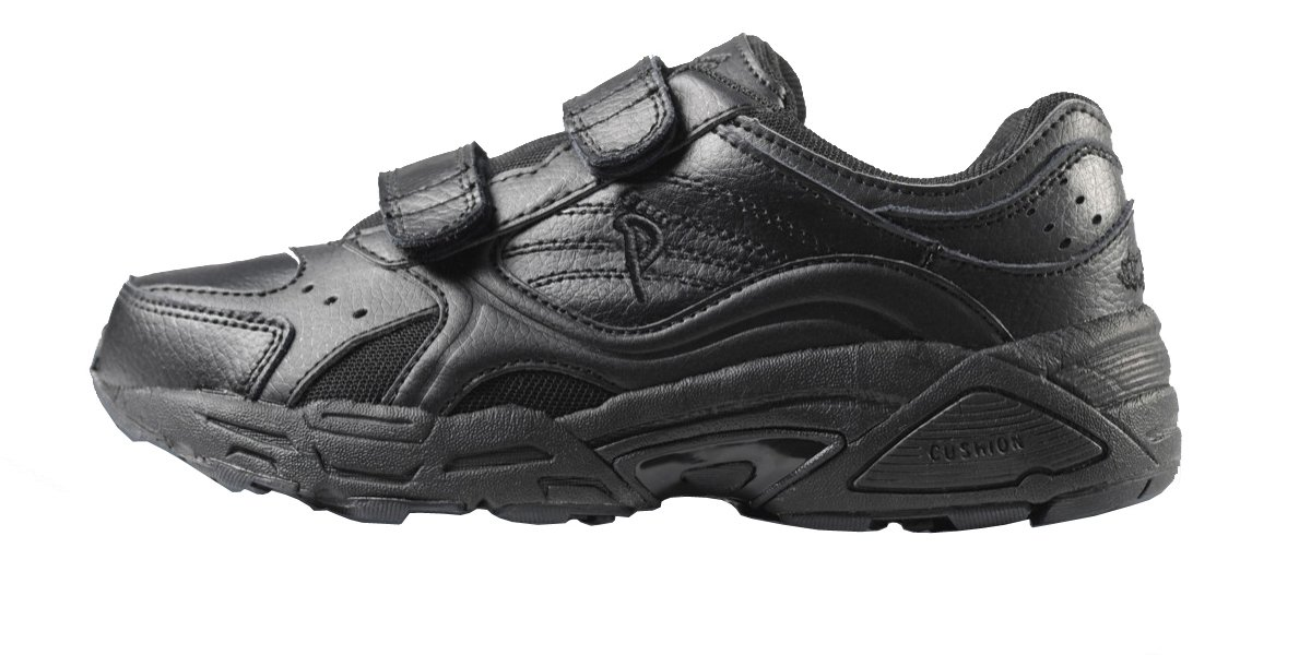 Ped-Lite Men's Neuropathy Athletic Shoe - Austin 8 D(M) US|Black
