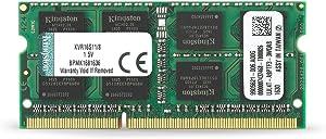 Kingston Technology 8GB 1600MHz DDR3 Non-ECC CL11 SODIMM PC Memory (KVR16S11/8)