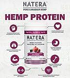 Try NATERA Hemp Protein (1 lbs) Vanilla, 100% Canadian Quality Plant Based, Vegan, Non-GMO