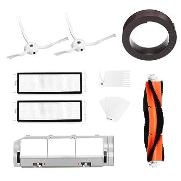 DyNamic 5 Unids Set Reemplazos Xiaomi Mi Robot Aspiradora Hepa Filtro De Algodón Cepillo De Lado Cepillo Principal: Amazon.es: Bricolaje y herramientas