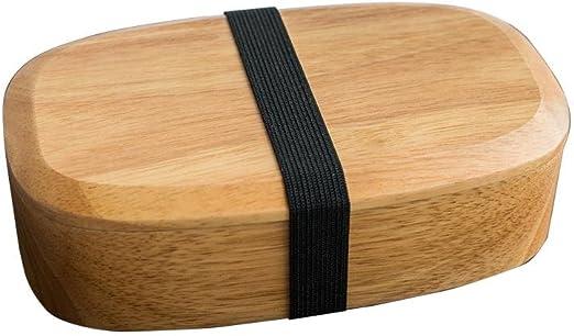 Ardentity - Fiambrera de bambú con 3 Partes - Caja Bento Japonesa Premium hermética, Apta para microondas y lavavajillas, Colorful, B: Amazon.es: Hogar