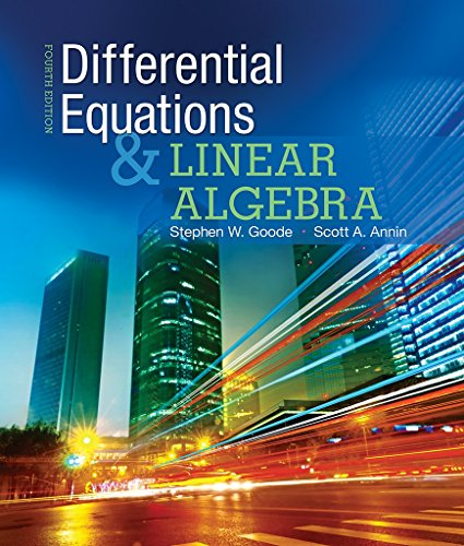 Differential Equations and Linear Algebra