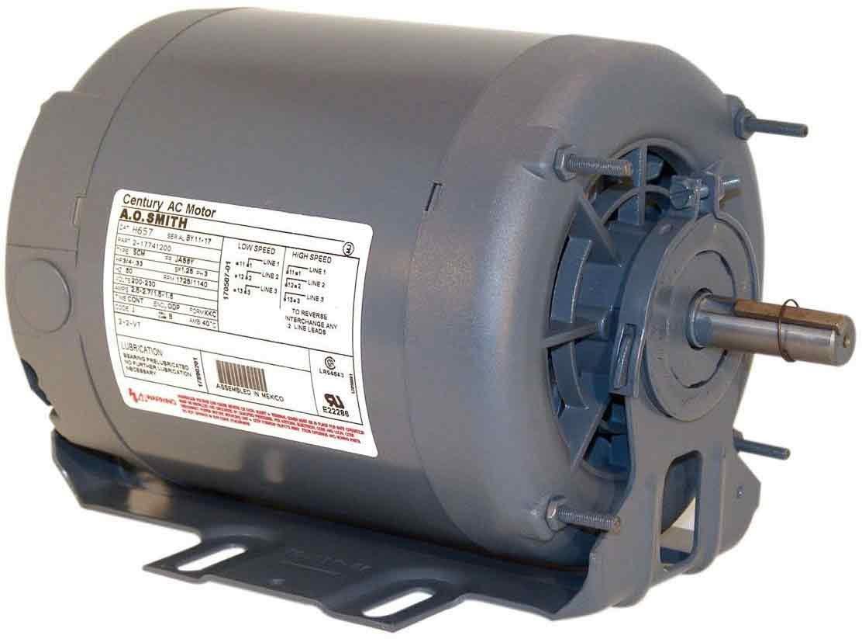 AO Smith BF2008 56 Frame 1/8 HP 850 RPM 115-Volt 4.4-Amp Ball Bearing Split Phase Resilient