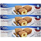 Weight Watchers Coffee Cake, 5.5 Oz 3 Packs