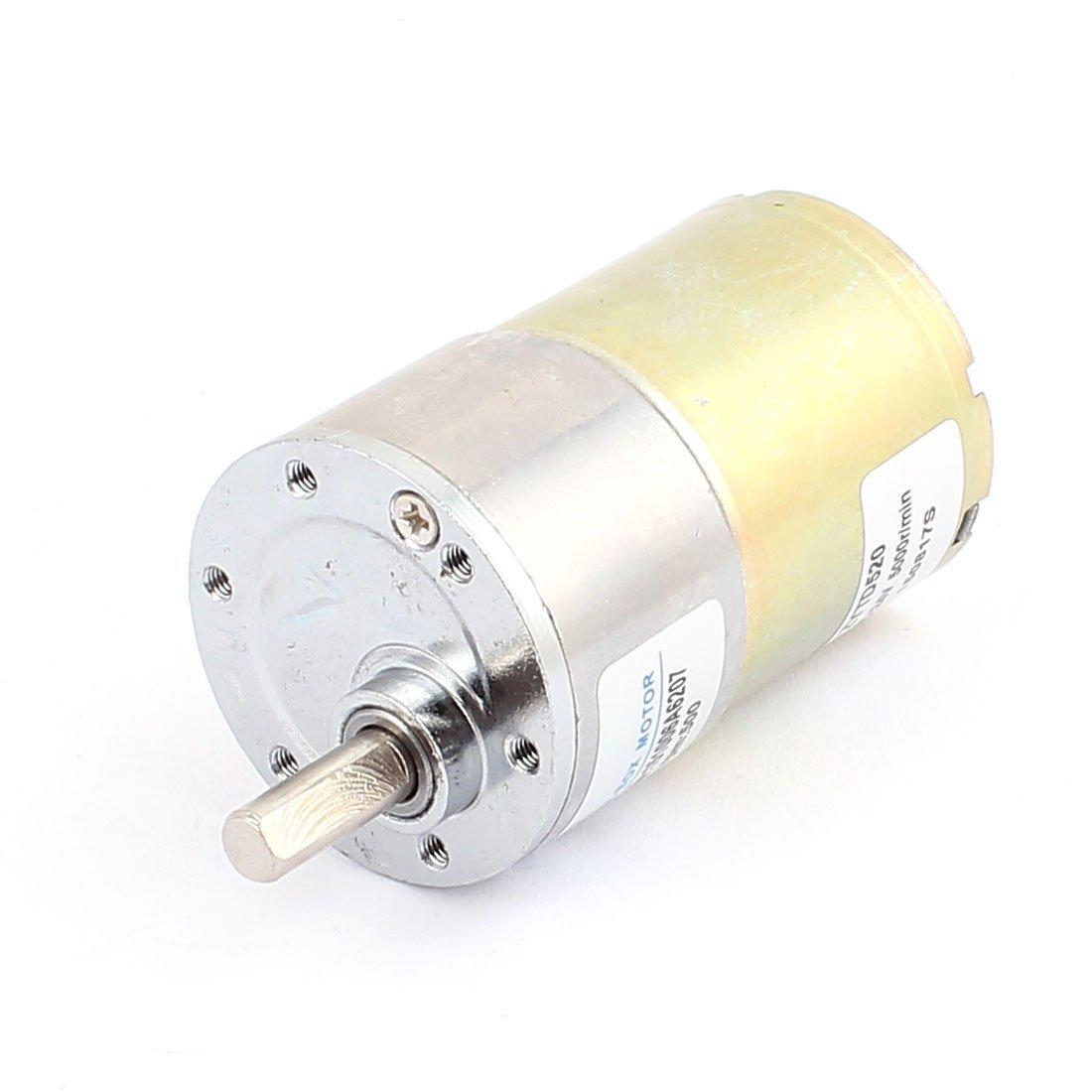 24V DC 500rpm remplacement électrique magnétique couple Boîte de vitesses Moteur