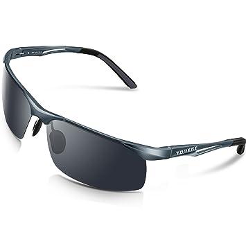 Torege - Gafas de sol deportivas polarizadas para hombres y mujeres, para ciclismo, correr