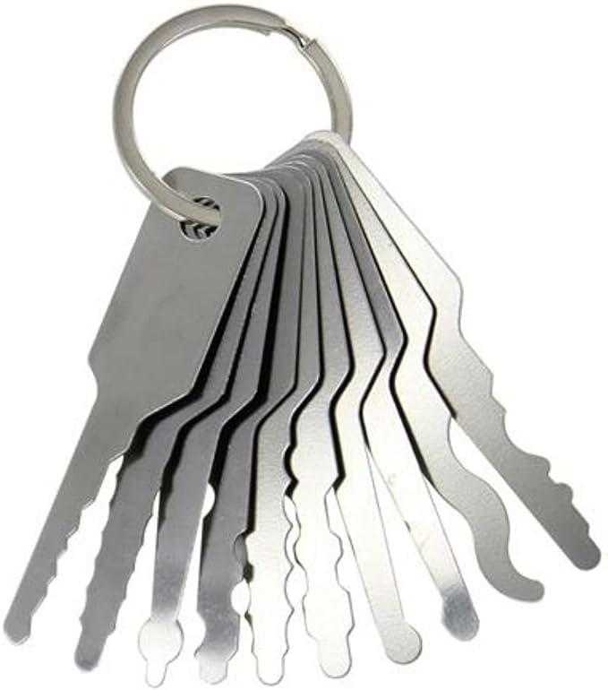 GZQ - Juego de 10 llaves de vaso de acero inoxidable para ...