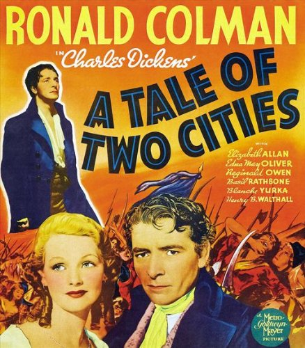 A Tale of Two Cities 11 x 17 Movie Poster - Style B