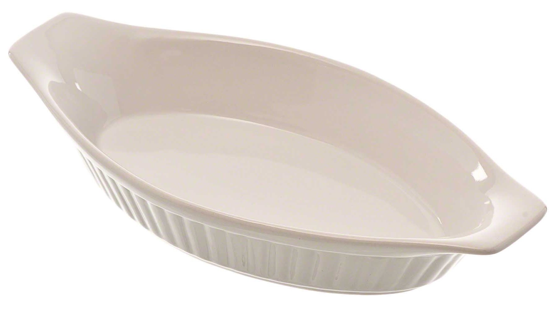 Browne (564013) 12 oz Oval Lasagna Baker by Browne Foodservice