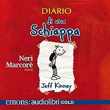 Diario di una schiappa: Primo libro delle avventure di Greg Audiobook by Jeff Kinney Narrated by Neri Marcorè