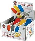 Norpro 1414D Mini Spatula, Assorted Colors Single.