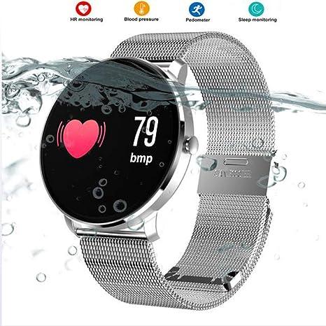 YUEC Fitness Tracker Actividad Deportes Reloj con podómetro ...