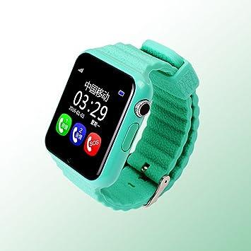 V7 Niños Reloj Inteligente GPS con Cámara Facebook Emergencia Seguridad Anti Perdido Sos para ISO Android