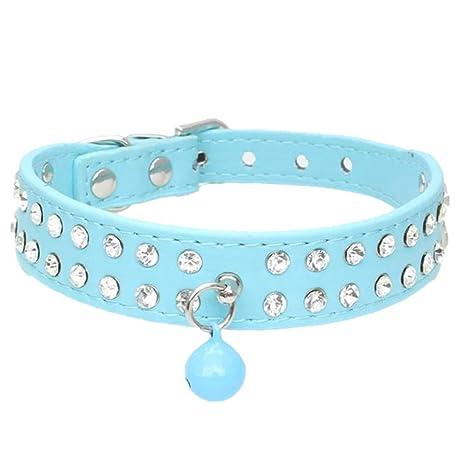 VingDeone Pet Pack de Collares para Gato/Perro con Campana para Perros, Gatos,