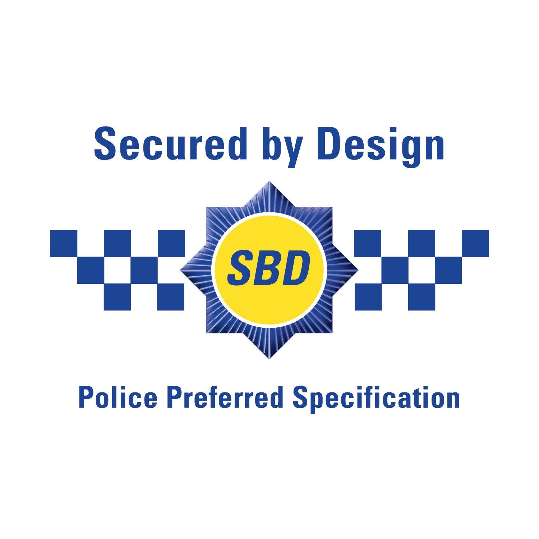 Defender Slimline Polic/ía aprobado ligero 130dbs alarma Personal con linterna en plata