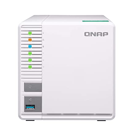 QNAP TS-328-US QNAP 3-Bay Personal Cloud NAS, Ideal for RAID5 Storage  ARM  Quad-core 1 4GHz, 2GB DDR4 RAM, 2 x Gigabit LAN, 2 5
