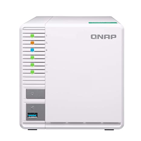 QNAP TS-328-US QNAP 3-Bay Personal Cloud NAS, Ideal for RAID5 Storage  ARM  Quad-core 1 4GHz, 2GB DDR4 RAM, 2 x Gigabit LAN, 2 5