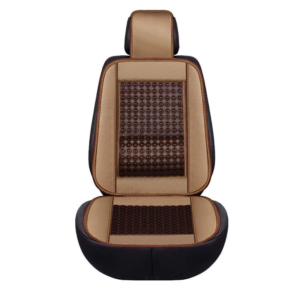Lqqzq Cushion Car Seat Cushion Pad - Summer Jade Seat Cushion - Waist Massage - Non-Slip Car Universal Cushion - 2PCS Cushion Cushion (Color : B)
