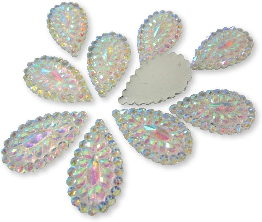 360 x Assorted Sizes Silver Colour Star Rhinestones Flat Back Card Making Crafts