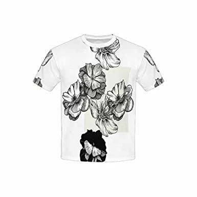 Jaxia My Hero AcademiaKidsCotton Youth Crewneck T-Shirt,Boys and Girls,Black