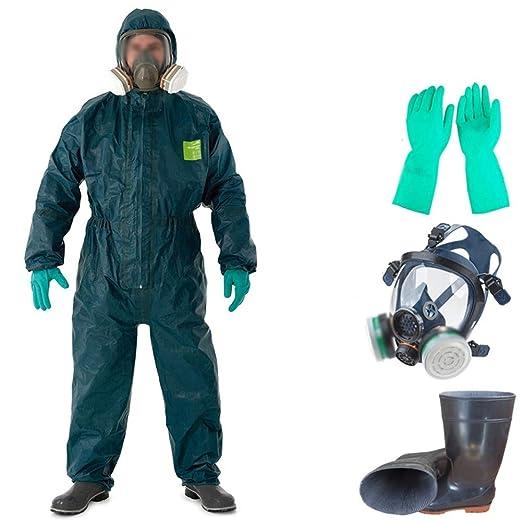 Traje De Protección Química 4000 Ropa De Protección para Trabajo ...