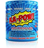 PREWORKOUT TESTOSTERONE BOOSTER - KA-POW! The Fastest Hitting ANABOLIC PRE WORKOUT SUPPLEMENT - Works in Minutes to Deliver Powerful Androgenic Triggers, Nitro Pump Precursors, and Dual Wave Energy