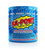 PREWORKOUT TESTOSTERONE BOOSTER - KA-POW! The Fastest Hitting ANABOLIC PRE WORKOUT SUPPLEMENT for Men, Works in Minutes - Delivers Powerful Androgenic Triggers Nitro Pump Precursors & Dual Wave Energy
