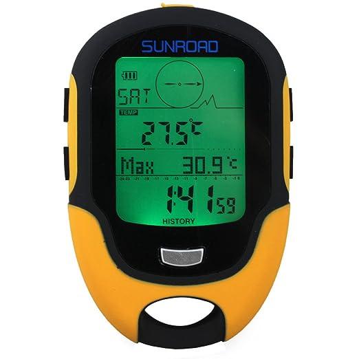 2 opinioni per Docooler LCD Altimetro Digitale Multifunzione Barometro Bussola Termometro