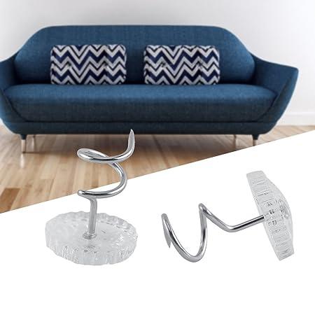 H710 Hemline Nickel Twist Upholstery And Mattresses Pins 13mm 30pcs