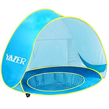 Yazer Baby Pool Tent Pop-up Tent Light-Weight Portable UV Protection Sun  sc 1 st  Amazon.com & Amazon.com: Yazer Baby Pool Tent Pop-up Tent Light-Weight ...
