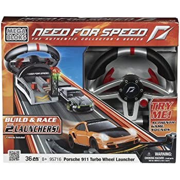 Need for Speed Porsche Turbo Wheel Launcher