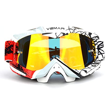 Security & Protection 2019 Fashion Colorful Cool Motorcycle Equipment Off-road Windproof Anti-fog Tactical Goggles Anti-reflection Skiing Goggles Uv400 Protection Safety Goggles