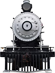 Advanced Graphics Steam Locomotive #7 Life Size Cardboard Cutout Standup