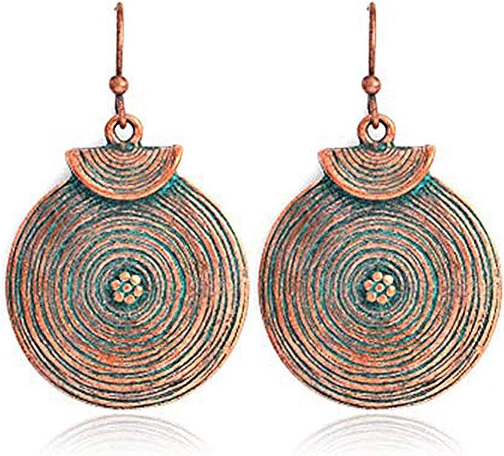 Doitsa 1 par Pendientes retros colgantes, Pendientes de perlas, Regalo para el Día de la madre - Pendientes forma de la hoja