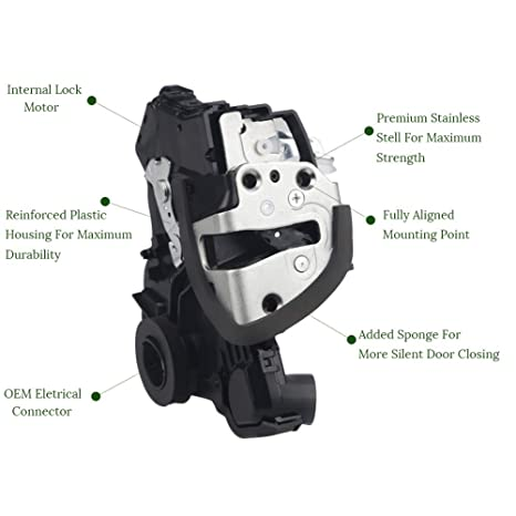 WMPHE Power Door Lock Actuator Motor Front Left Driver Side For Toyota  4Runner, Camry, Tundra, Lexus ES350, GS350, LS460,Scion tC- Replaces#