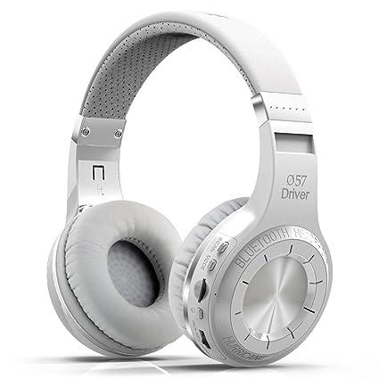 MRSLIU Auriculares Bluetooth Sobre El Oído, Auriculares Sin Hilos De La Radio Bluetooth 4.1 HT