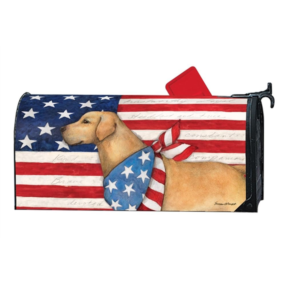 Magnet Works MailWrap - Patriotic Pup by MagnetWorks (Image #1)