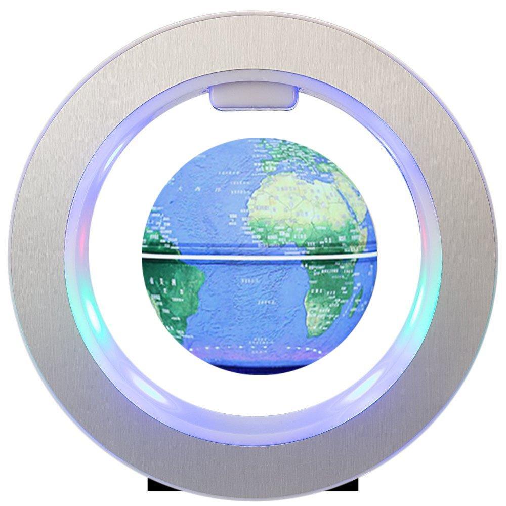 FUZADEL Magnetic Floating Levitating Globe Levitating Toy Magnetic Levitation Globe Magnetic Toy Playboards Floating Globes with Stand by FUZADEL (Image #3)
